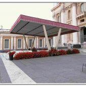 allestimento floreale in Vaticano - Roma