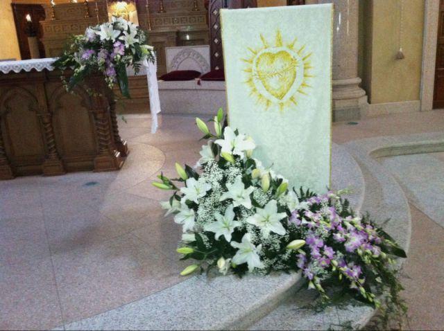 Allestimento Chiesa Ortensie : Allestimento chiesa elegante per matrimonio tagliabue il