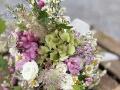 bouquet colorato rural chic