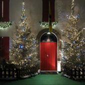 allestimento villaggio di Natale - Milano