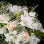 bouquet sposa di rose vendela