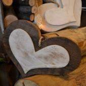 home decor - cuoridi legno da appendere